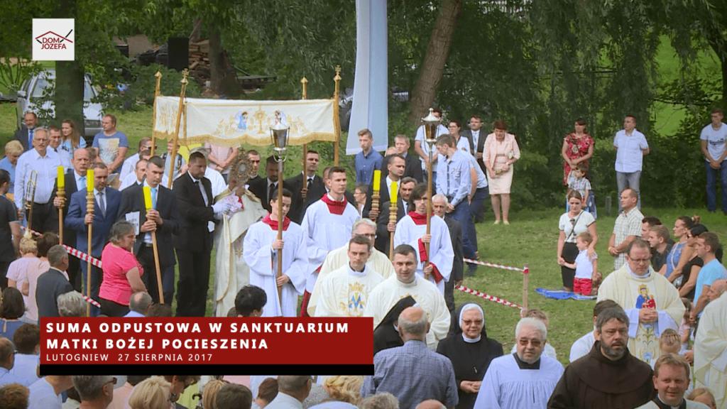 Suma odpustowa w Sanktuarium Matki Bożej Pocieszenia w Lutogniewie