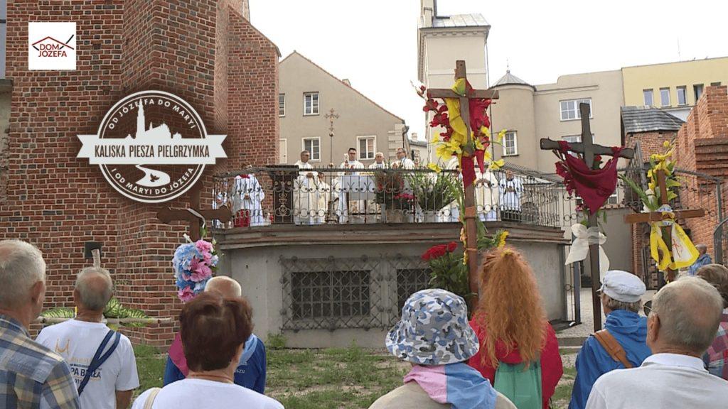 Pielgrzymkowa Eucharystia w Bazylice św. Józefa w Kaliszu